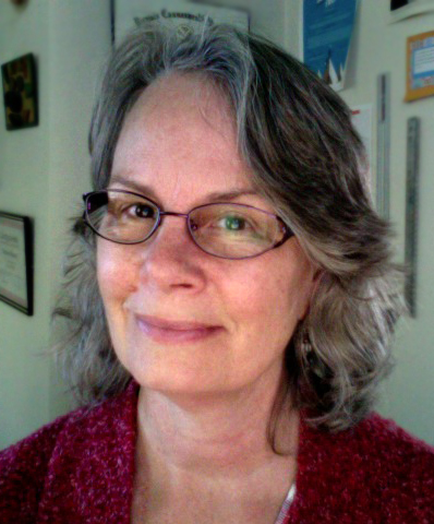 Elaine at home in October 2011