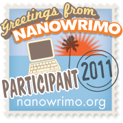 nanowrimo participant stamp for 2011